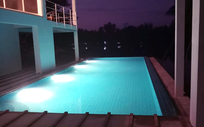 Hikkaduwa Hotel Swimming Pool Waterproofing Project